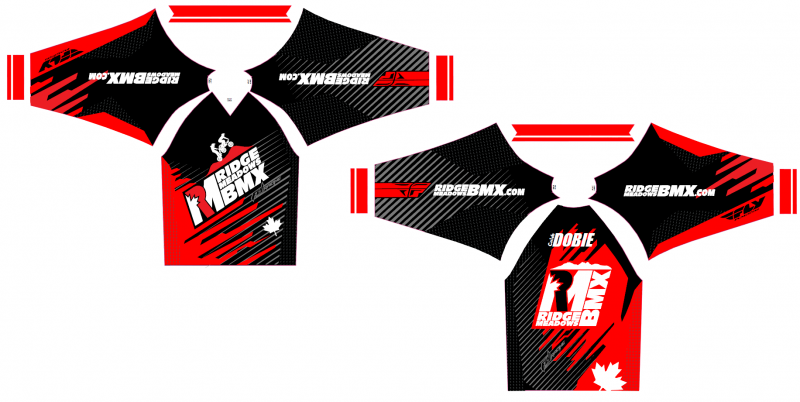 2015 Ridge Meadows BMX jersey